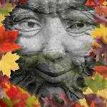 """GREEN MAN"" by keithdillondigitalartist"