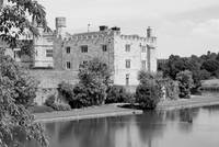 Leeds Castle black and white