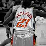 """BOBCATS-VS-CHICAGO-120507-2902-bw"" by VANJOHNSONPHOTOGRAPHY"