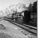 """Express in the snow"" by Billsboy"