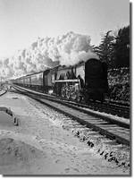 Express in the snow