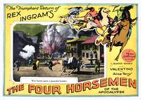 """The Four Horsemen of The Apocalypse"" Lobby Card 3"
