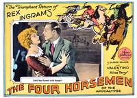 """The Four Horsemen of The Apocalypse"" Lobby Card 2"