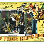 """""The Four Horsemen of The Apocalypse"" Lobby Card 1"" by Shortrunusa"
