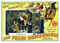 """The Four Horsemen of The Apocalypse"" Lobby Card 1"