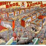 """Christy Bros. 5 Ring Animal Show"" by Shortrunusa"