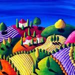 """""""Tuscan Landscape"""" by reniebritenbucher"""