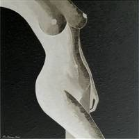 Black & White Nude no. 2 (digitally inverse)