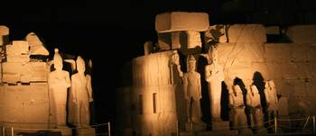 Karnak Temple at night 9