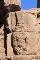 Hieroglyphs at Edfu Temple