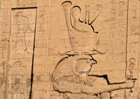 Hieroglyphs at Edfu Temple 5