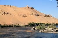 Temple on banks of River Nile 4