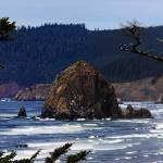"""Haystack Rock at Canon Beach"" by NWExposures"