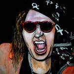 """Tribute to Sam Kinison"" by karenzima"