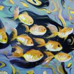 """8 Gold Fish"" by GinaDeGorna"