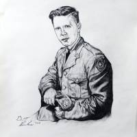 Canadian Soldier Portrait Art Prints & Posters by Grant Burke