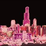 """""""Purple City"""" by JulieMHolloway"""