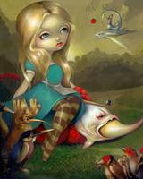 Alice and the Bosch Birds