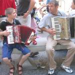 """Father and Son Accordion Duo. Venice, Italy"" by SabinaBhasin"