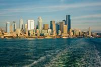 Seattle Skyline from Ferry Boat