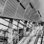 """Metro Dubai (Monochome)"" by Norah"