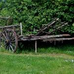 """Old hay wagon"" by Heners"