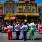 """Dapper Dans on Main Street USA"" by ahansendesign"