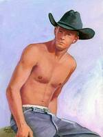 Shirtless Cowboy