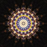 Indian Corn Kaleidoscope Art 4