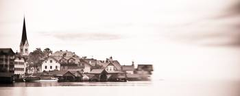 Town of Hallstadt, Sepia