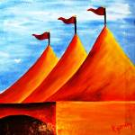 """""""circus is in town"""" by kjgordon"""