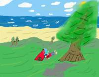 Seaside Picnic_Colored