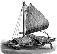 Boat of the Luzon Tagals