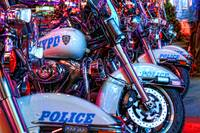 New York City Police Motorcycles