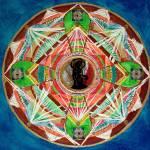 """""""Blu Mandala"""" by PamellaAllenArt"""
