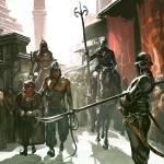 """""""Dothraki Honor Guard"""" by Morano"""