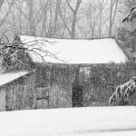 """_MG_7256 - Barn in Winter Snowstorm - 2010"" by whayes39"