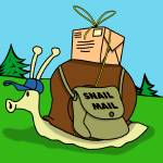 """Snail Mail"" by ScrewballGraphics"