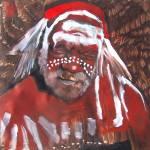 """aboriginal portrait"" by Arteology"