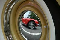 Corvette reflection