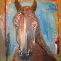 horse portrait Art Prints & Posters by Cesar Markenzy
