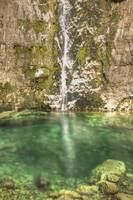 Savica Waterfall in the Julian Alps