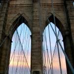 """Brooklyn Bridge Sunset"" by jamm2323"