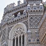 """La Seo Cathedral, detail 2- Zaragoza Spain"" by woodlarkny"