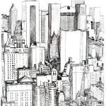 """""""Midtown Manhattan by RD Riccoboni"""" by RDRiccoboni"""