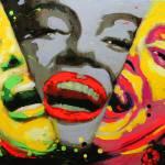 """""""Marilyn Monroe x3"""" by CostinCraioveanu"""