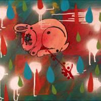 Dead Bunny Art Prints & Posters by Sara Cella