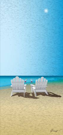 Venus Winter Beach Chairs