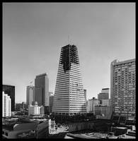Transamerica Pyramid under construction 1972, San by WorldWide Archive