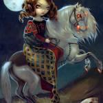 """I Vampiri:  Notte a Cavalla"" by strangeling"